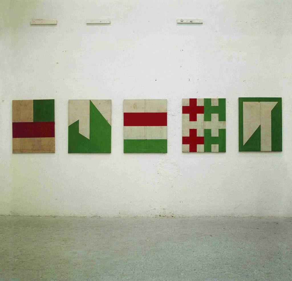 Eduardo Barco. Galería Egam. Madrid. 2000