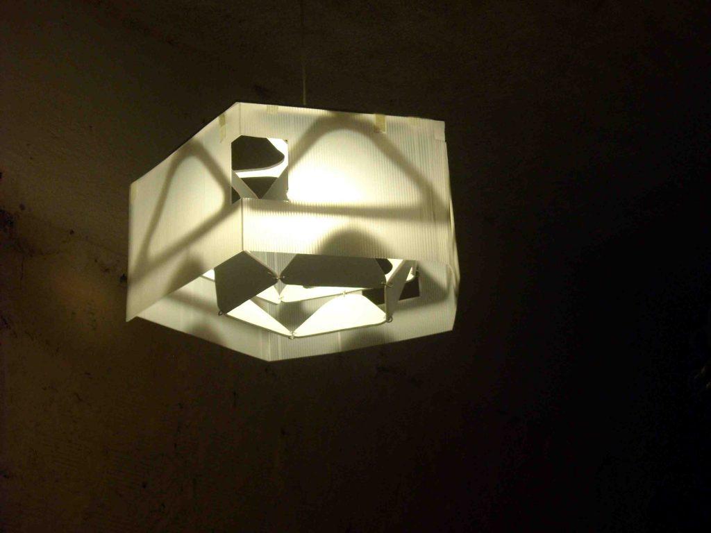 Eduardo Barco lampara Penta Bis