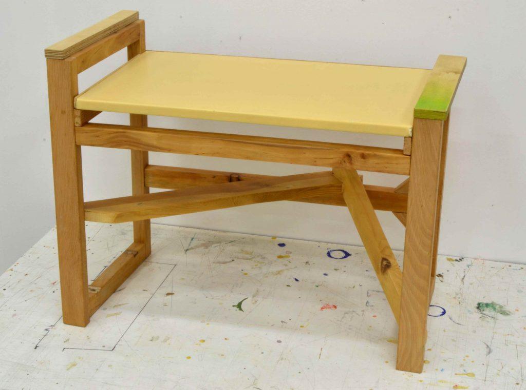eduardo barco arte contemporaneo silla banca