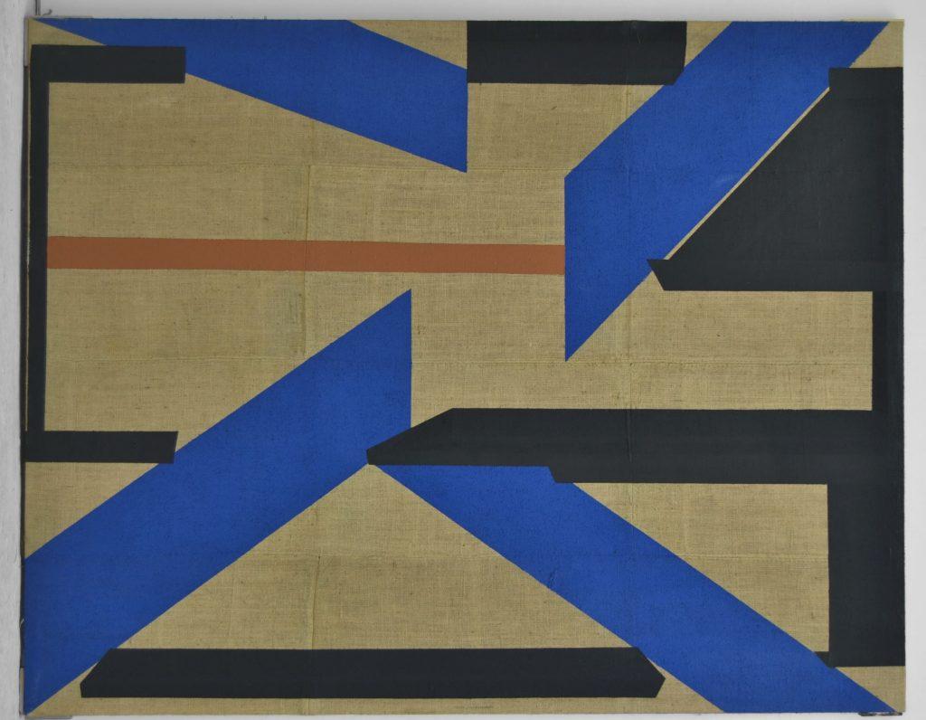 eduardo barco arte contemporaneo azul negro